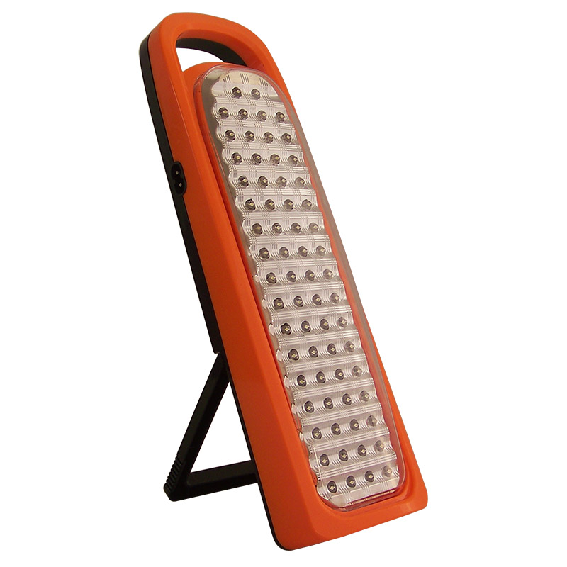 rechargeable 66 led emergency light with racket 6820
