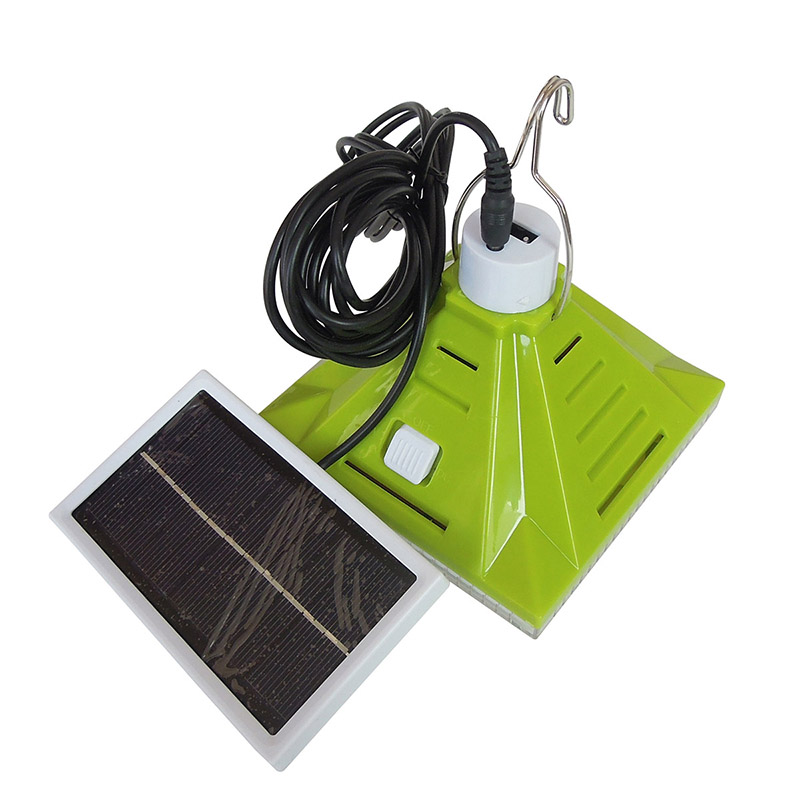 rechargeable bulb LED flashlight with solar panel 806